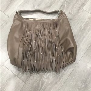 Izzy and Ali fringe purse